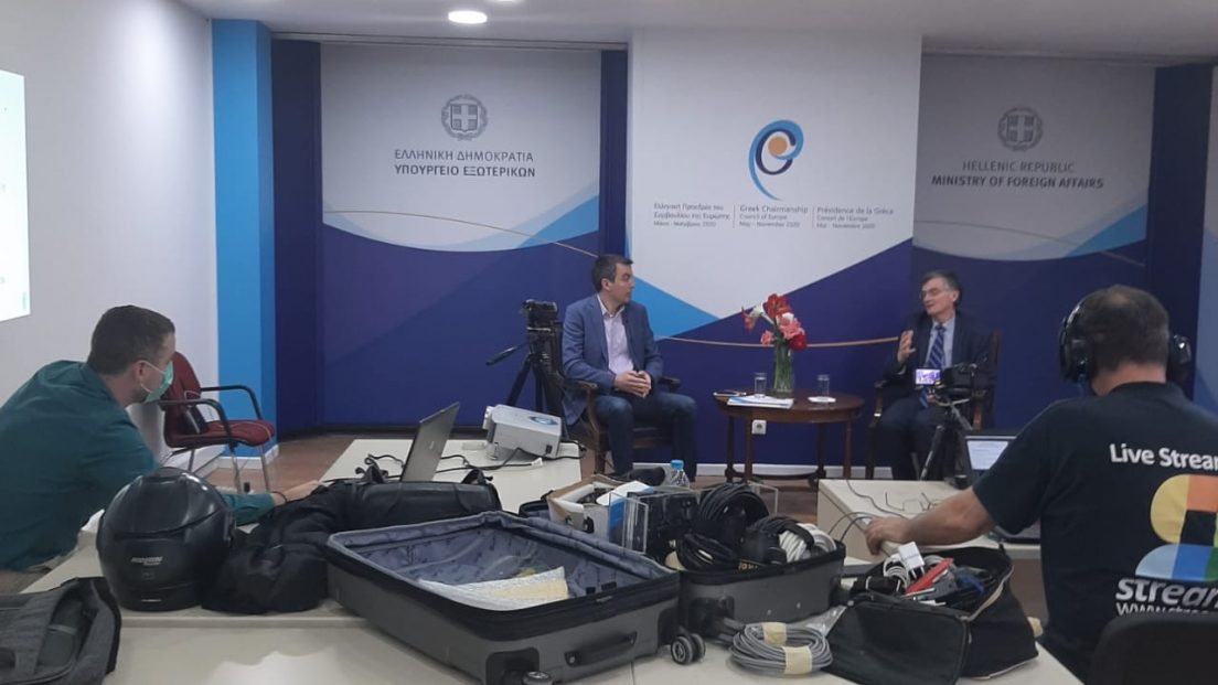 Live Streaming συνέντευξης