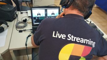 Live Streaming web conference