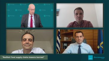 Live Streaming συζήτησης Circle the Med