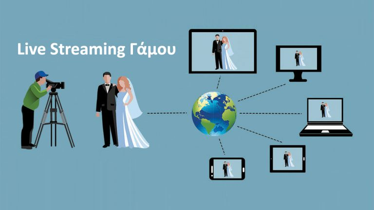 Live Streaming γάμου